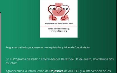 Podcast sobre Dolor Pélvico Crónico en Libertad FM