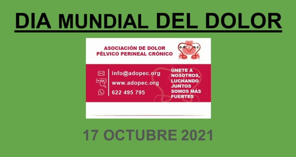 DIA MUNDIAL DEL DOLOR 2021